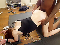 Cum Face Cock Suckers 1- Slutty Teen Gets Tied Up And Fucked For A Facial