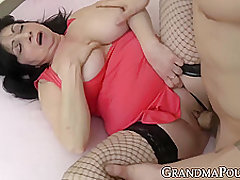 Big Tits Granny Fucked Hard And Doggystyle